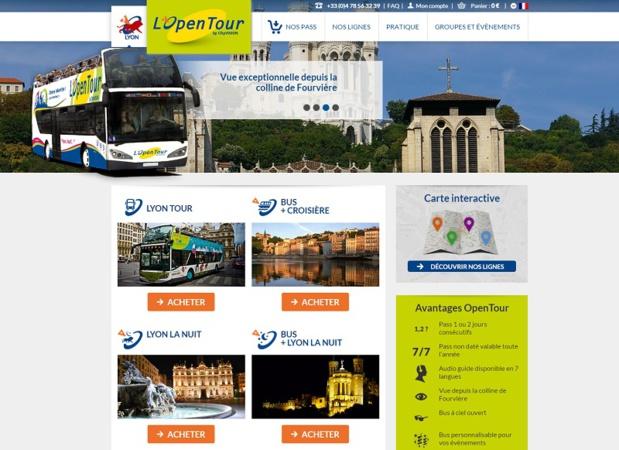 Lyon Open Tour : un train touristique dans le quartier de la Croix Rousse