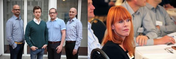 Les nouveaux directeurs nommés par Dreamlines en 2015 - Photo : Dreamlines