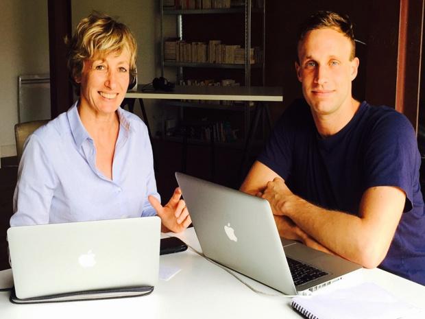 Nadine Pédemarie and Fabien Apheceix, founders of waynote - DR