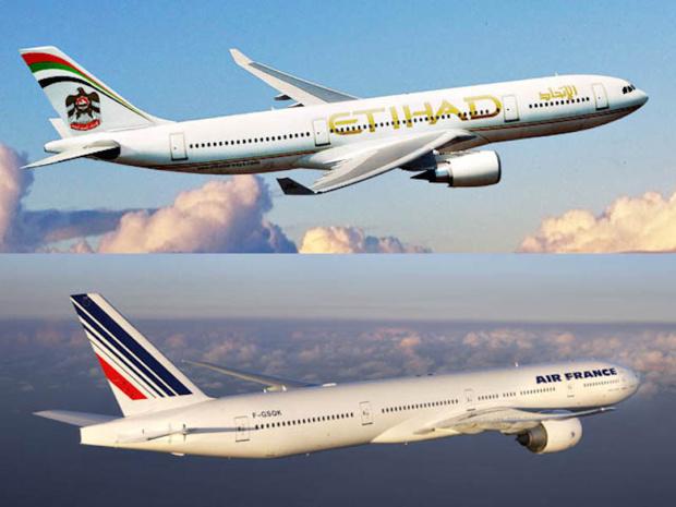 Etihad will not enter Air France's capital. DR