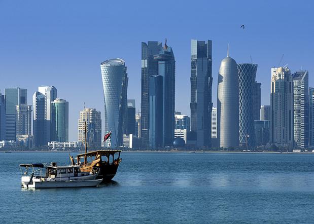 La ville de Doha au Qatar - Fotolia Auteur : kubikactive