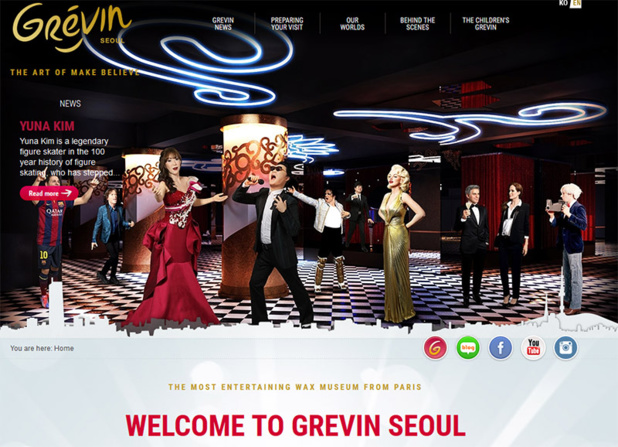Corée : Grévin ouvre son musée à Séoul