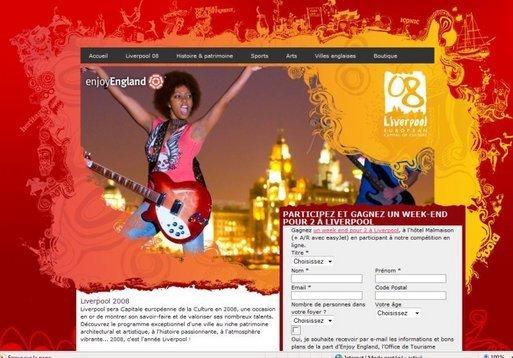 Capitale européenne de la Culture 2008 : Liverpool lance les festivités