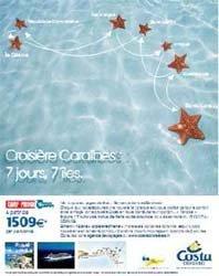 Costa Croisières lance une campagne de promotion radio