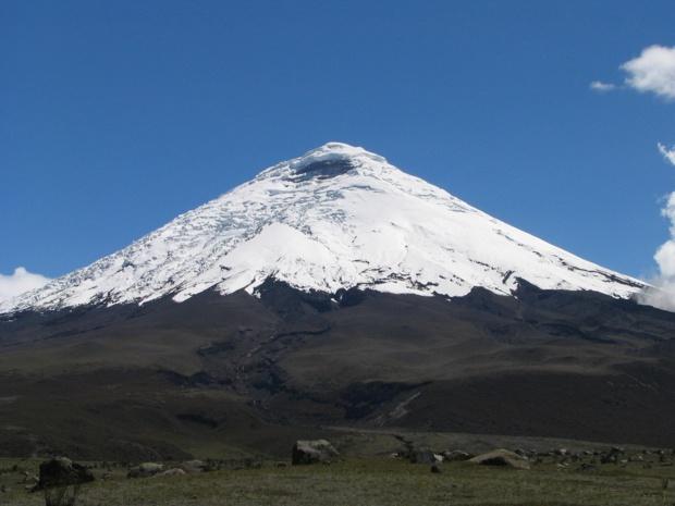 Le Cotopaxi, un des plus dangereux volcans au monde /photo dr