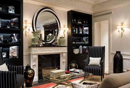 Le Keppler : un nouvel hôtel boutique parisien en noir et blanc