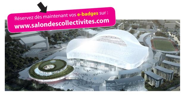 Le salon des Collectivités de Marseille s'installe au Stade Vélodrome les 9 et 10 septembre 2015 - DR