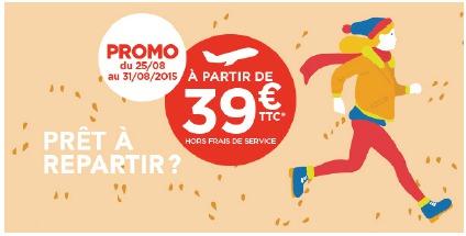 Hop! Air France vend 1 million de billets à 39 euros