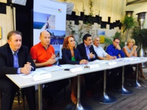 Tourism representatives of the PACA region gave their assessment of the summer in Marseille on Thursday August 27, 2015 - Photo J.D.L
