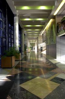 Le bâtiment « Colbert » a été conçu en empruntant des codes architecturaux à la symbolique de l'époque médiévale - DR : MEF Bercy