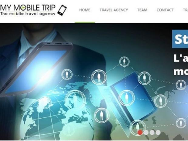 My Mobile Trip permet donc d'optimiser la relation clients des agences de voyages - capture d'écran My Mobile Trip