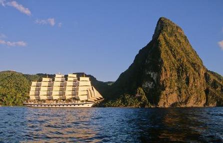 Les navires de Star Clippers seront très présents dans les Caraïbes cet Hiver - Photo : Star Clippers