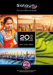 Salaün Holidays édite sa brochure Automne-Hiver 2015/Printemps 2016