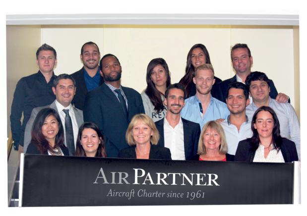 L'équipe d'Air Partner sera présente au salon IFTM Top-Resa. DR