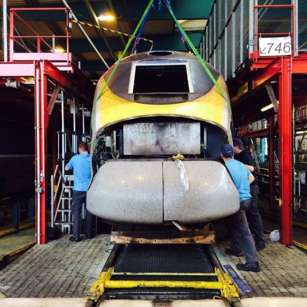 La SNCF propose la visite de son technicentre du Landy à Saint-Denis, qui fonctionne 7j/7 et 24h/24. - DR