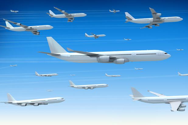 Les 100 plus grosses compagnies aériennes représentent un chiffre d'affaires de plus de 700 milliards de dollars soit plus de 85 % du total du transport aérien qui compte aux alentours de 800 à 900 compagnies - Photo fotolia Auteur : Georgo
