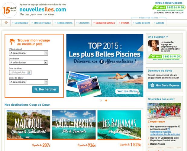 NouvellesIles (Antilles On Line) a repris les ventes