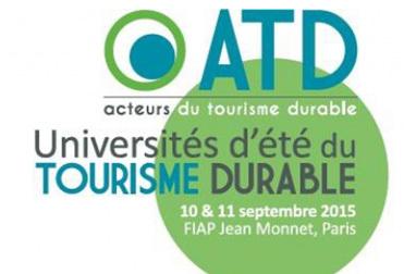 Universités d'été du Tourisme Durable : changement de lieu pour jeudi