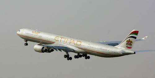 Etihad Airways : plus de 4,6 millions de passagers en 2007