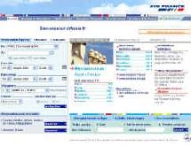 Le site d'Air France prend la tête du classement