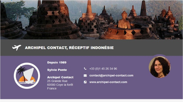 Indonésie : Archipel Contact rejoint DMCMag.com