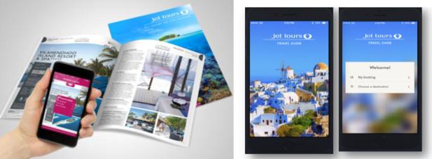 Jet tours lance une appli réalité augmentée et un carnet de voyage digital