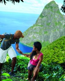 Des activités dans un cadre spectaculaire à Sainte-Lucie