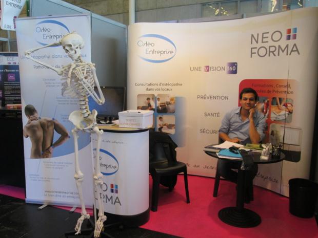 Une réponse au mal au dos avec une formation gestes et postures par des ostéopathes dans la prévention des risques physiques en entreprise - DR : M.S.
