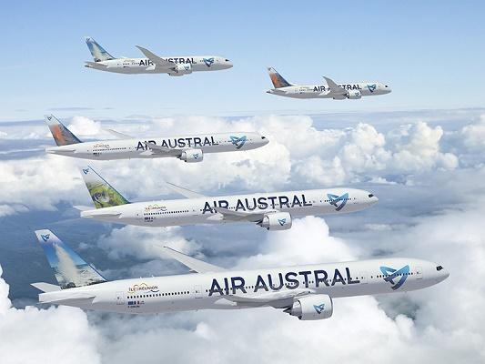 Les commerciaux d'Air Austral profiteront de la tournée pour présenter les nouveautés de la flotte de la compagnie aérienne - Photo : Air Austral
