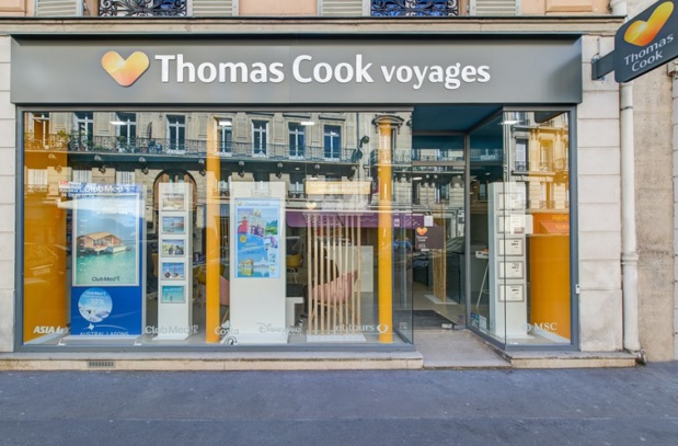 """""""Ici c'est comme Internet, le sourire en plus"""", résume ce slogan qui figurera sur les nouvelles agences Thomas Cook - Photo Thomas Cook"""