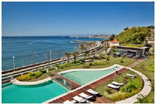 L'InterContinental Estoril compte 59 chambres et deux suites avec vue sur l'Océan Atlantique - Photo : IHG