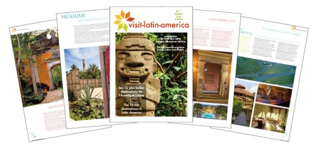 Le magazine sera présenté aux professionnels pendant l'IFTM Top Résa 2015 - DR : Visit Latin America