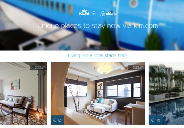 Source : airbnb.klm.com