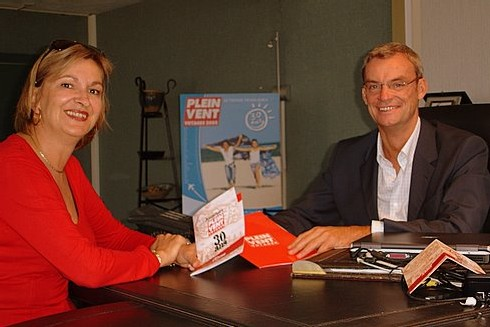 Carole Pellicer & Joost Bourlon, respectiement DG délégué et PDG de Plein Vent