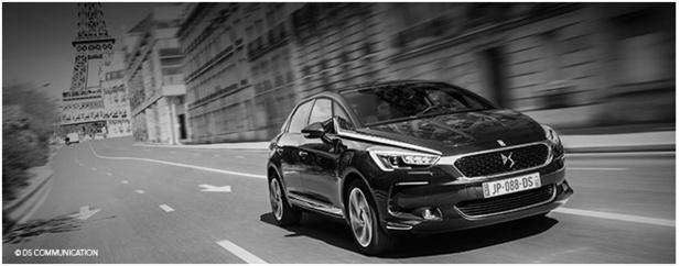 Les clients d'Avis Location France vont pouvoir être parmi les premiers à conduire la nouvelle Citroën DS 5 - Photo : DS Communication