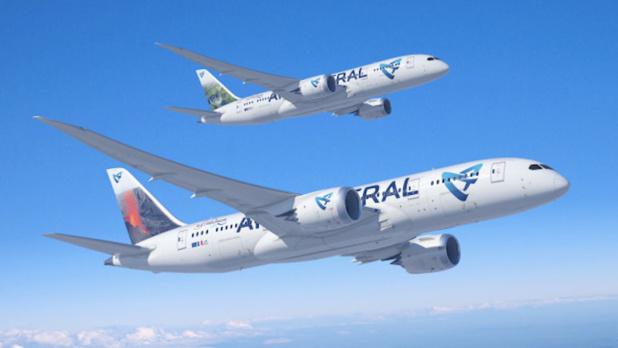 Les futurs Dreamliners d'Air Austral lui permettront de lancer un vol direct entre Paris et Mayotte. DR - Air Austral.