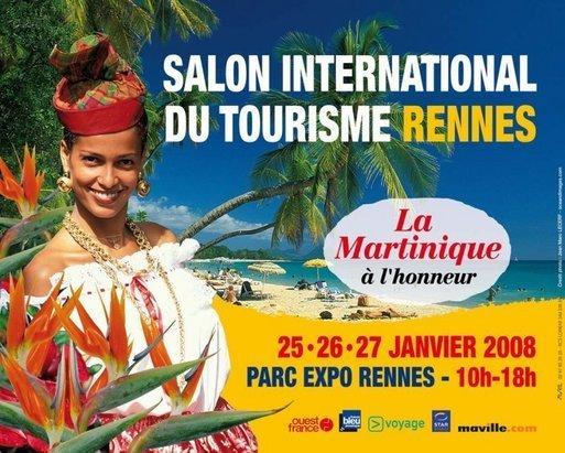 Salon du Tourisme de Rennes : la 12e édition aux couleurs de la Martinique