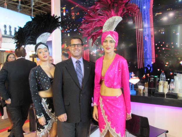 Las Vegas à Top Resa. Bien encadré,  Michael Goldsmith Vce President of International Marketing du Convention and Visitors Authority.