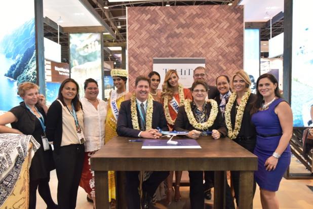 Les Miss iront faire bronzette à Tahiti lors du voyage préparatoire à l'élection 2016. DR Tahiti Tourisme.