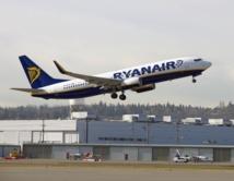 Ryanair : le trafic passagers grimpe de 12% en septembre 2015
