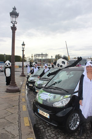 Des hôtesses et des mascottes vont vanter les atouts touristiques du Sichuan aux Parisiens - Photo DR