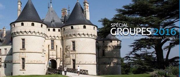 Blois-Chambord étoffe sa nouvelle brochure groupes 2016