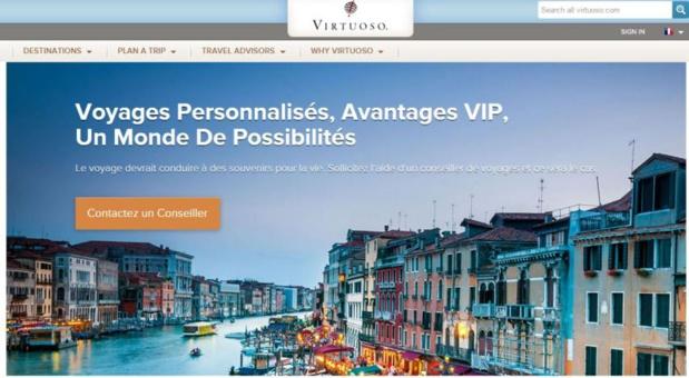 Le réseau d'agences de voyages de luxe Virtuoso arrive en France avec six nouveaux membres - DR : Capture d'écran Virtuoso