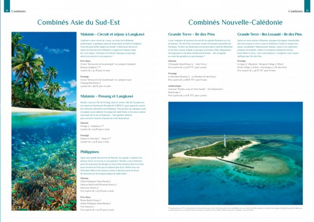 La collection 2016 de Passion des Iles se compose de trois brochures : Caraïbes, Océan Indien et, en nouveauté, une programmation Asie-Pacifique - DR