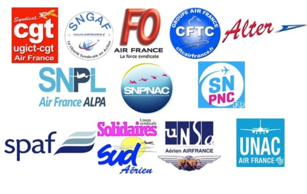 Air France : l'intersyndicale appelle à la mobilisation le 22 octobre