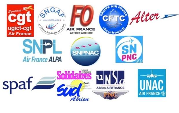 Air France : l'intersyndicale appelle à la mobilisation le 22 octobre