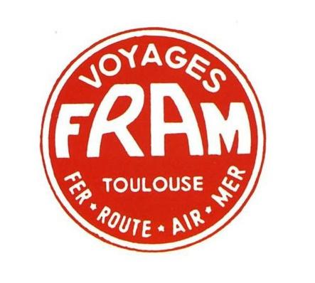 Le premier logo de Fram - DR : Fram