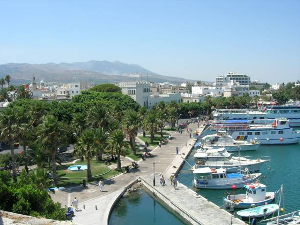 Le port de Kos /photo Wikipedia