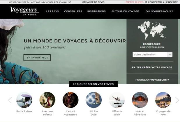 Les ventes via le site internet sont stables, face à une progression des ventes en agences de voyages. DR-Voyageurs