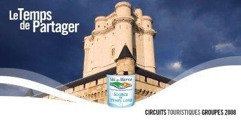 Val-de-Marne : 'le Temps de Partager', la nouvelle brochure dédiée aux groupes